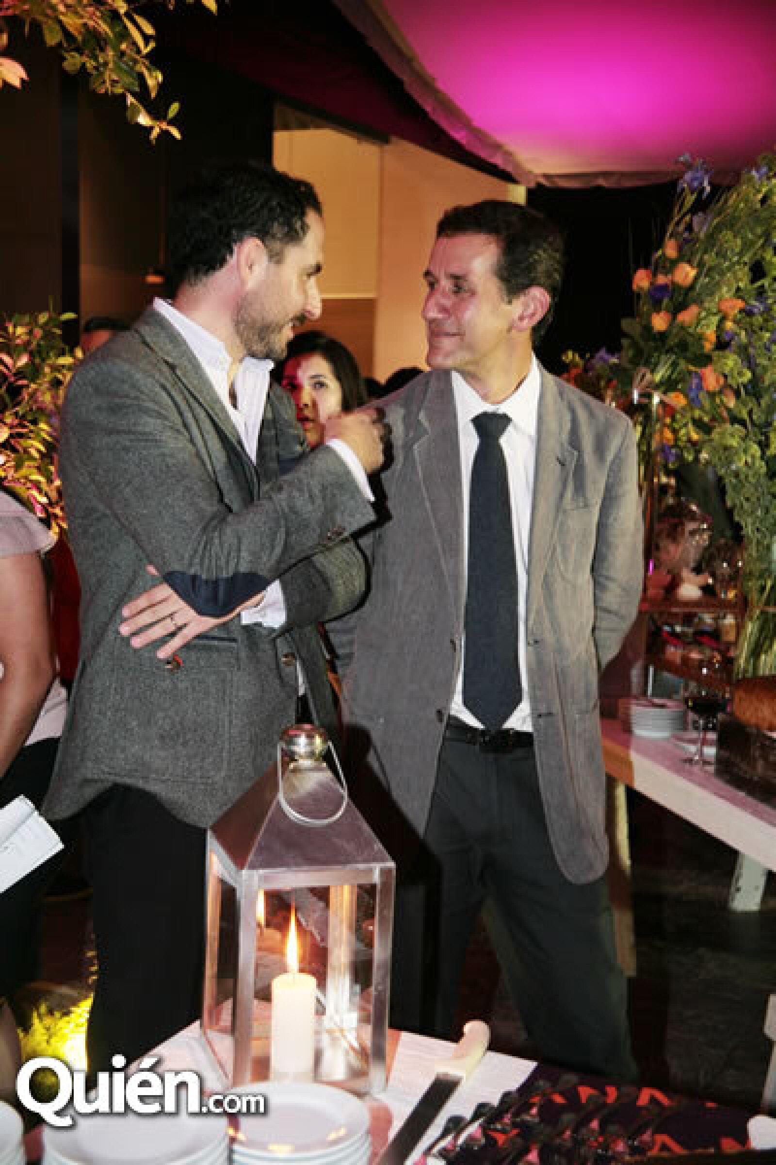 Carlos Vargas y Víctor Legorreta
