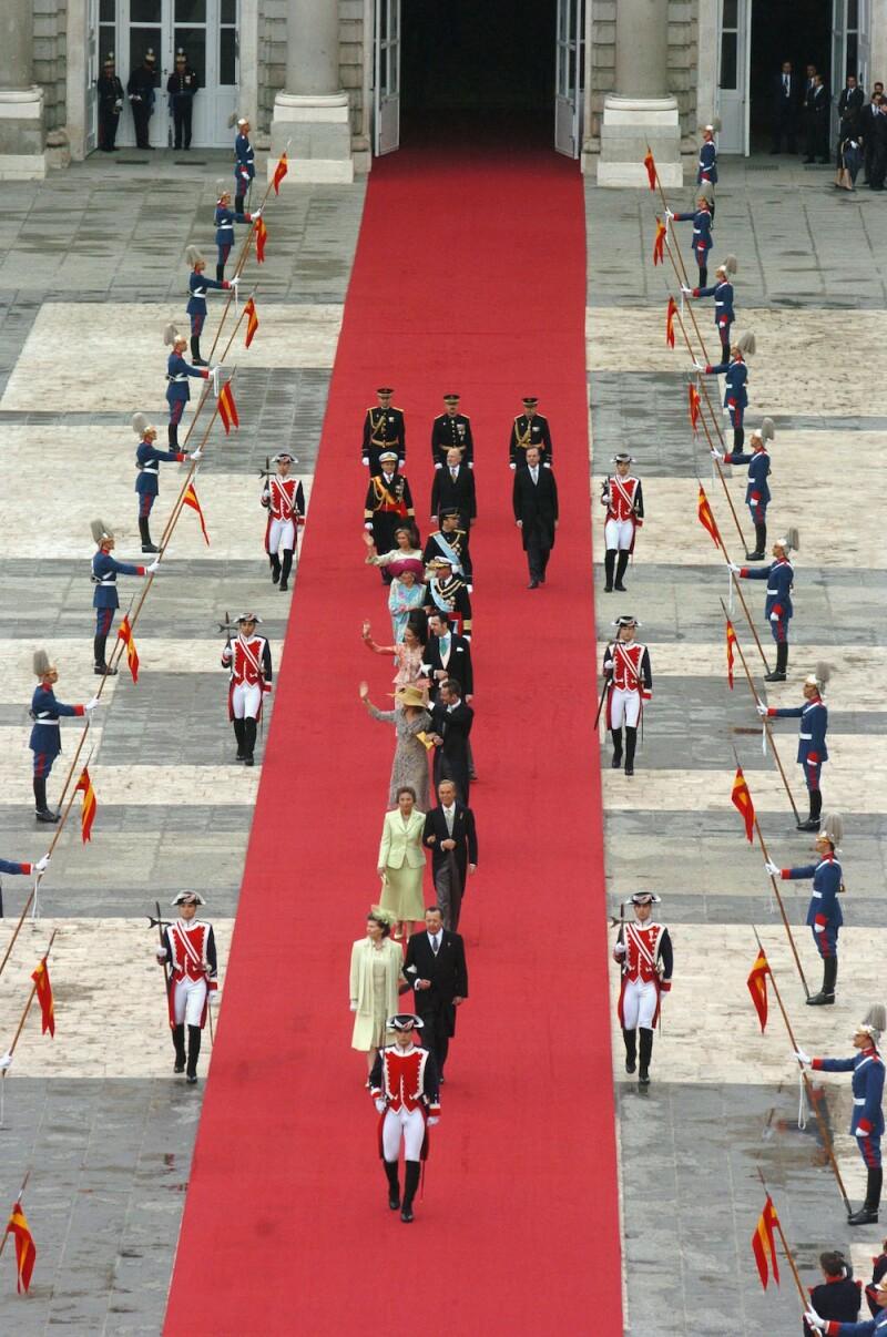 Wedding Of Spanish Crown Prince Felipe and Letizia Ortiz