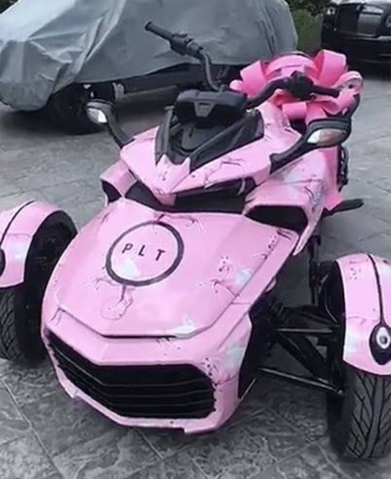 Cam-Am Spyder de Kylie 2018