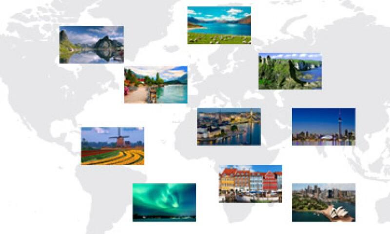 La mayor parte de los mejores países para vivir están en Europa. (Foto: Especial)