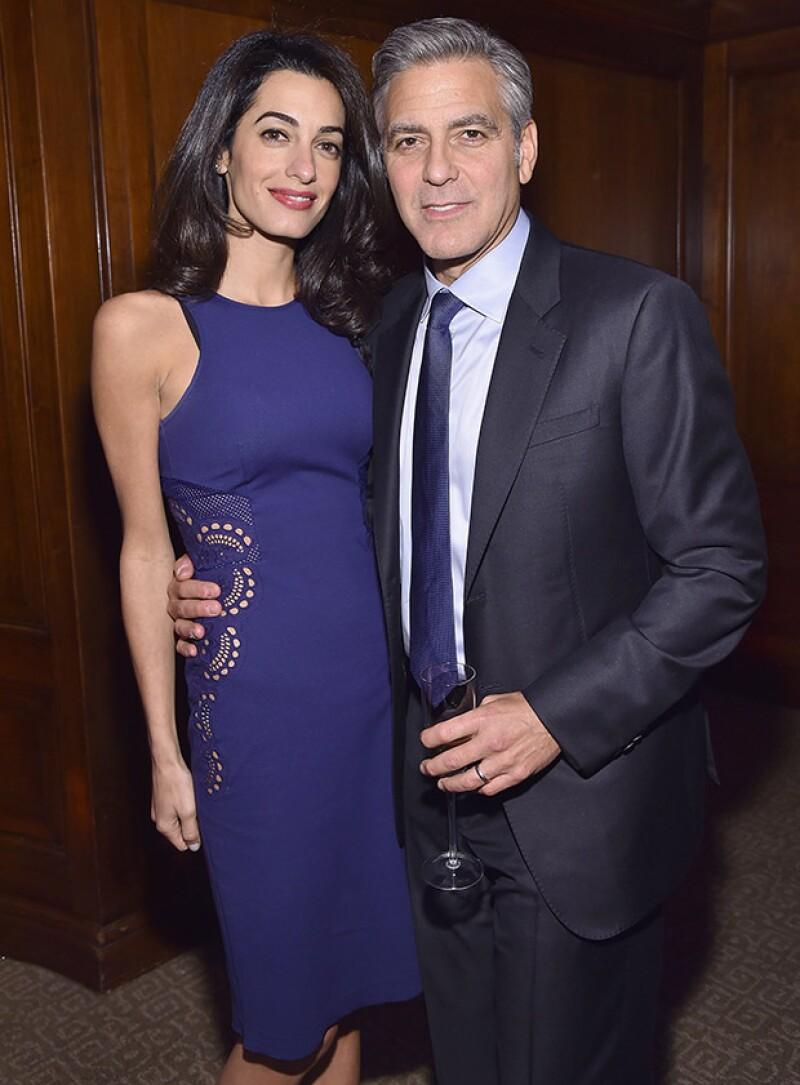 La exitosa pareja tuvo una cena romántica en el hotel Sunset Tower de West Hollywood.