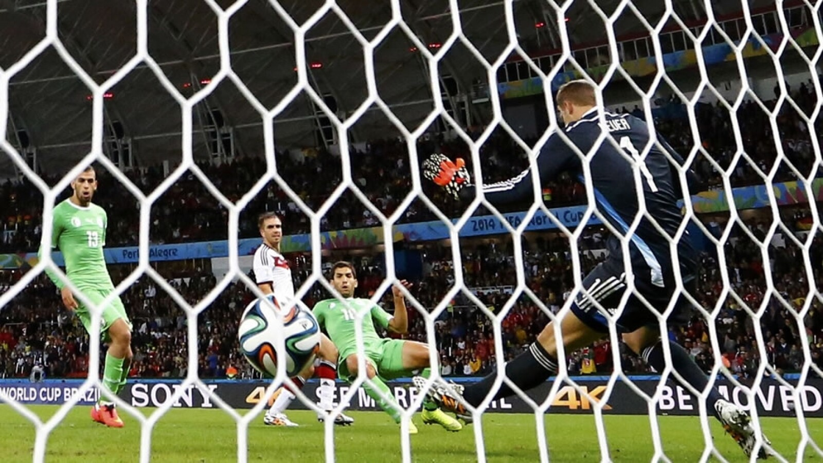 Alemania vs Argelia, Mundial
