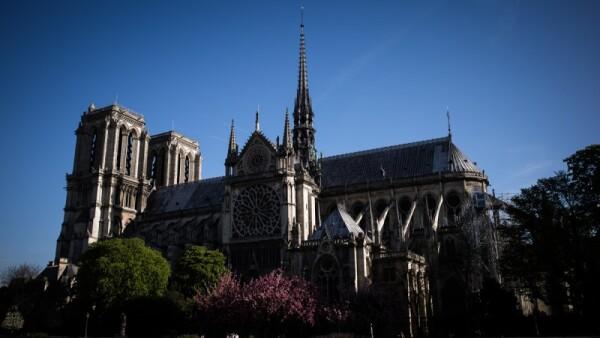 Notre Dame - aguja - reconstrucción