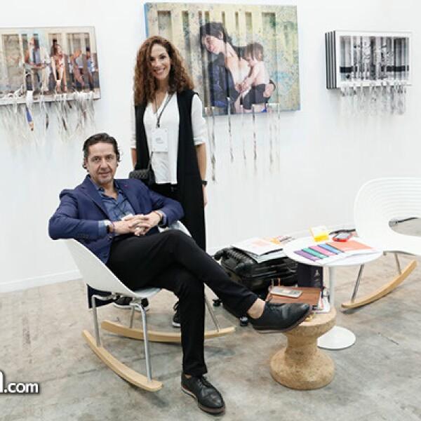 Ricardo Reyes y Carolina Mendez