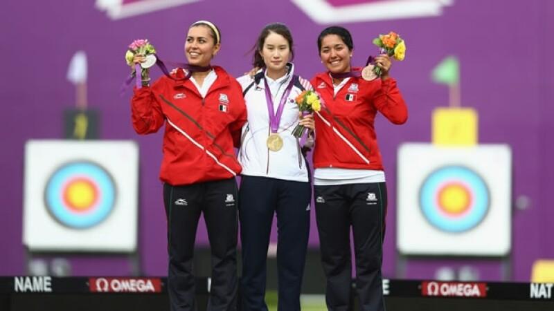 Aida Roman Mariana Avitia tiro con arco mexico plata bronce londres 2012 juegos olimpicos