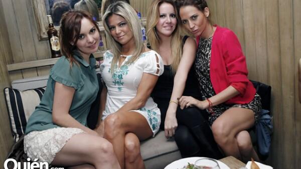 Alexia Herrera,Gaby Torres,Mariana Otero,Sussy Stevan