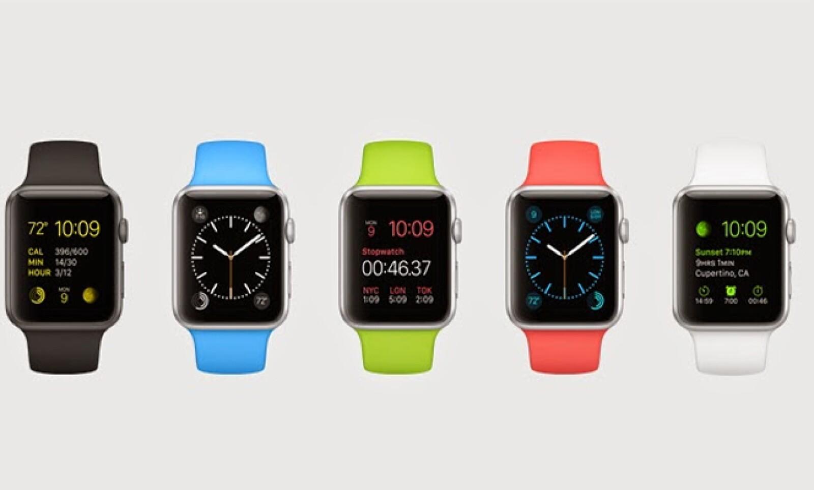 El reloj de 38 milímetros costará 349 dólares, mientras que el de 42 milímetros costará 399 dólares.