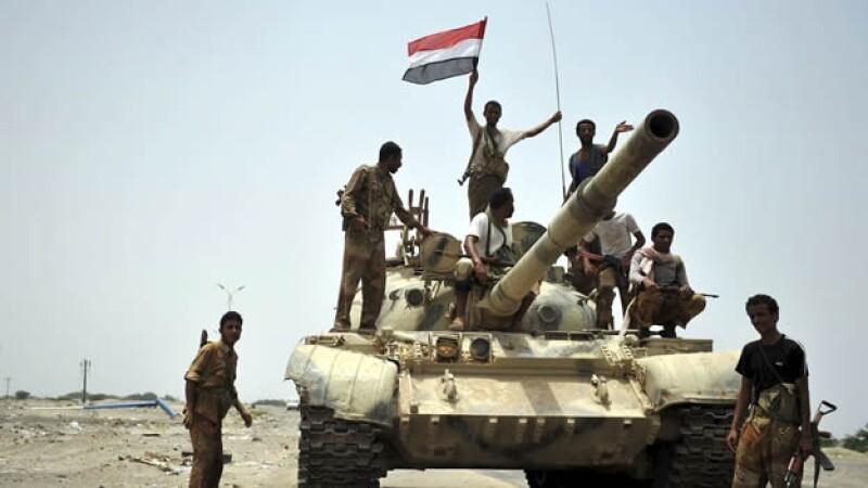 soldados yemeníes al qaeda zinkibar