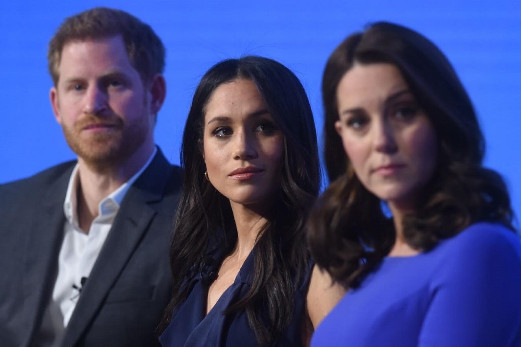 Príncipe Harry, Meghan Markle y Kate Middleton