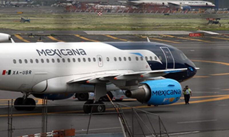 El próximo 28 de junio las aerolíneas que pertenecían a Grupo Mexicana cumplirán 10 meses de haber dejado de operar. (Foto: Notimex)