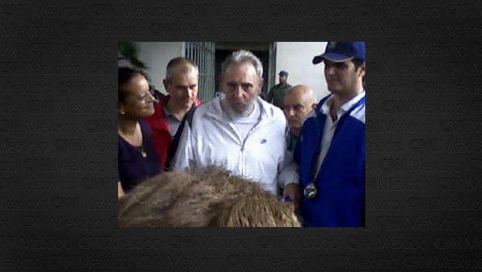 Reaparicion de Fidel Castro