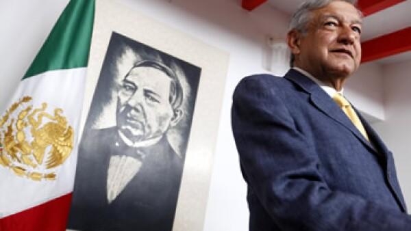 López Obrador recalcó que el desarrollo con empleo y el combate a la desigualdad y la pobreza, permitirían serenar al país. (Foto: Notimex)