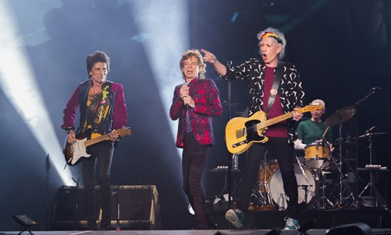 Rolling Stones compartirán escenario con otros grandel del rock.