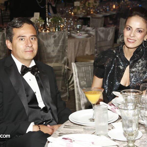Luis Xavier Quijano y Claudia Estrada