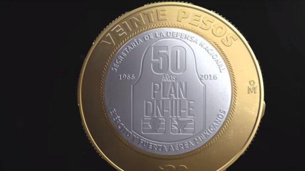 Moneda 20 pesos