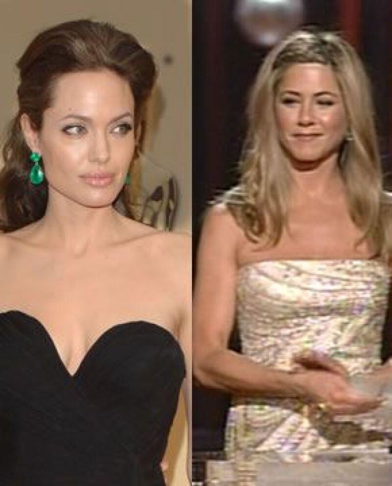 El reencuentro entre Aniston, Pitt y Jolie generó cientos de comentarios entre los asistentes a la entrega de los premios Oscar.