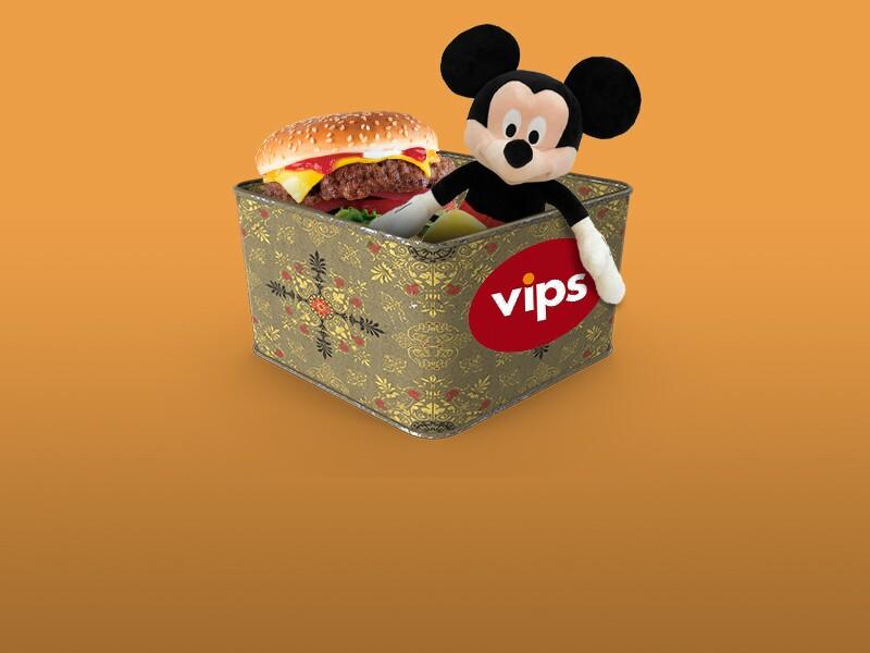 Alianza Vips y Disney