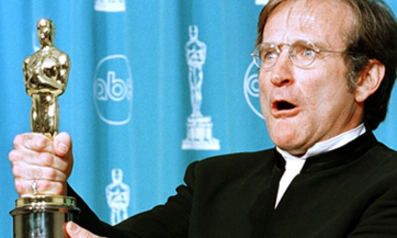 Robin Williams ganó un Oscar en 1997. (Foto: AFP)
