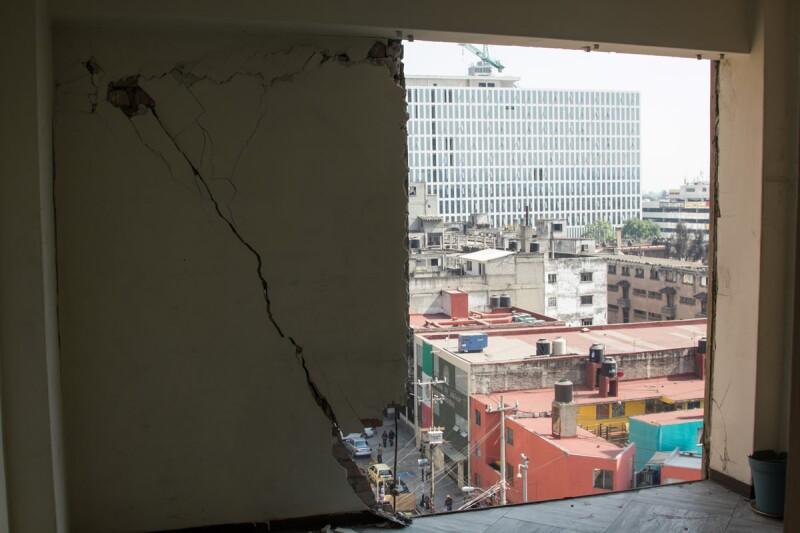 demolición Osa Mayor
