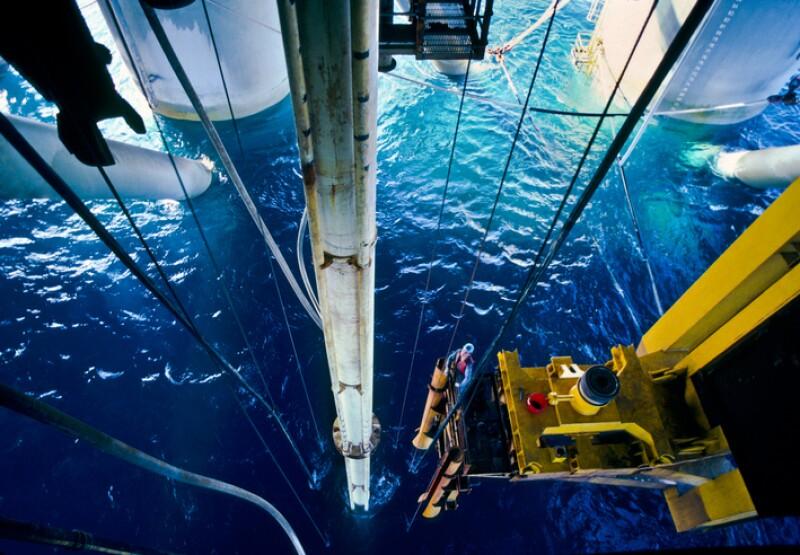 Perforación petrolera marítima
