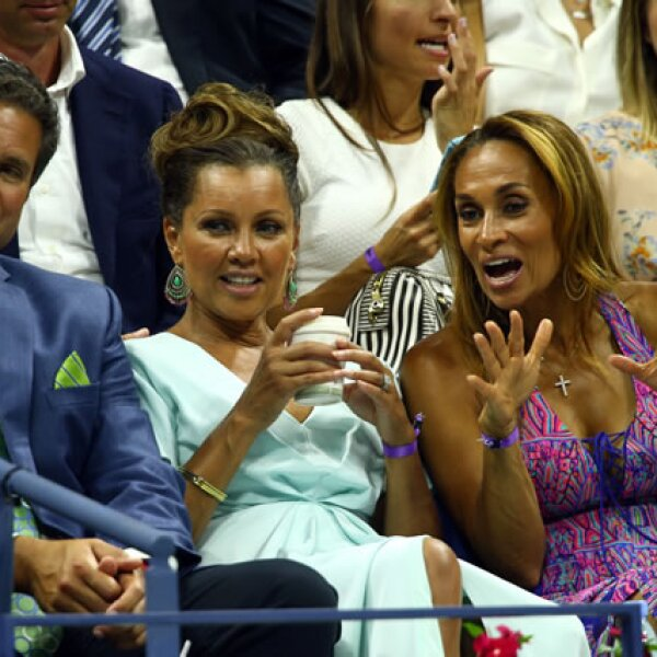 La actriz de Desperate Housewives Vanessa Williams fue captada entre los asistentes.