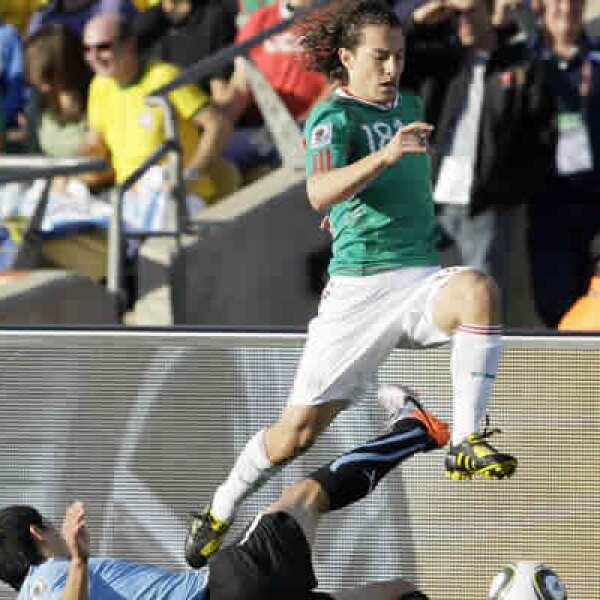 El mediocampista mexicano migró al Deportivo la Coruña tras su participación en el Mundial de 2006.