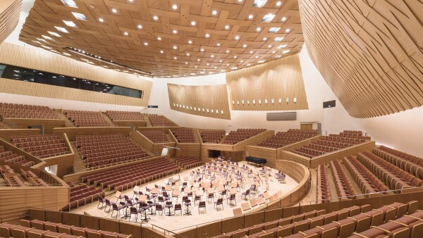 Shanghai Symphony Hall, Shanghai, China (2014)