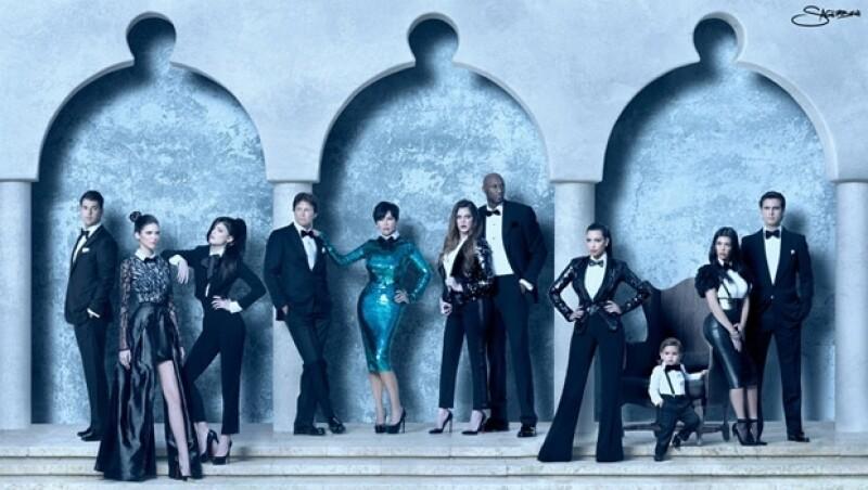 La falta de tiempo ha impedido a los Kardashian reunirse y posar para la tradicional tarjeta de Navidad con la que felicitan a sus amigos.