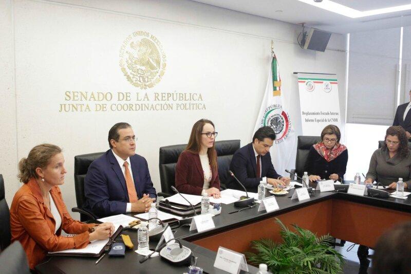 Desplazados en México