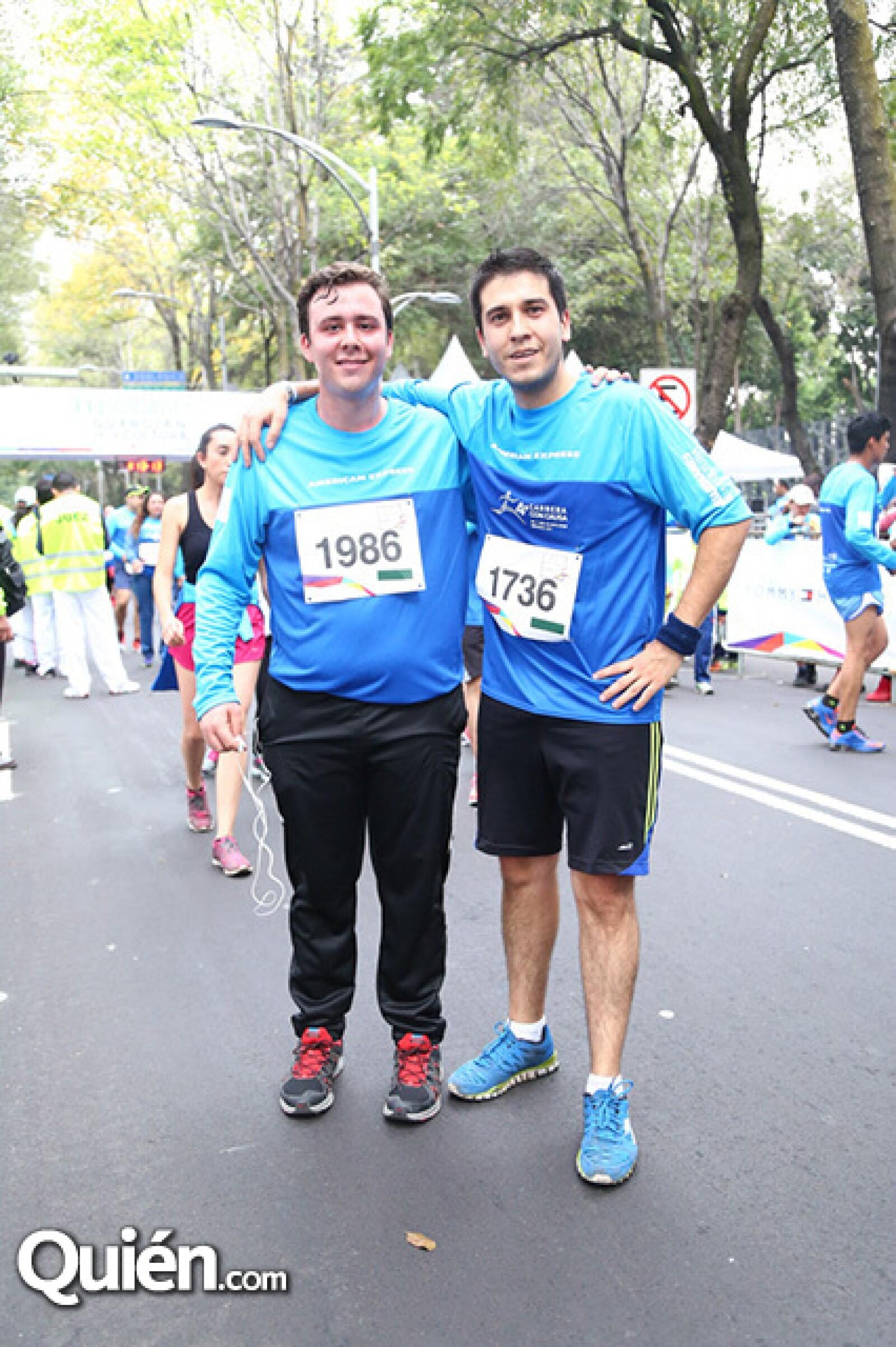 Rodrigo Casillas y Alfonso Mora