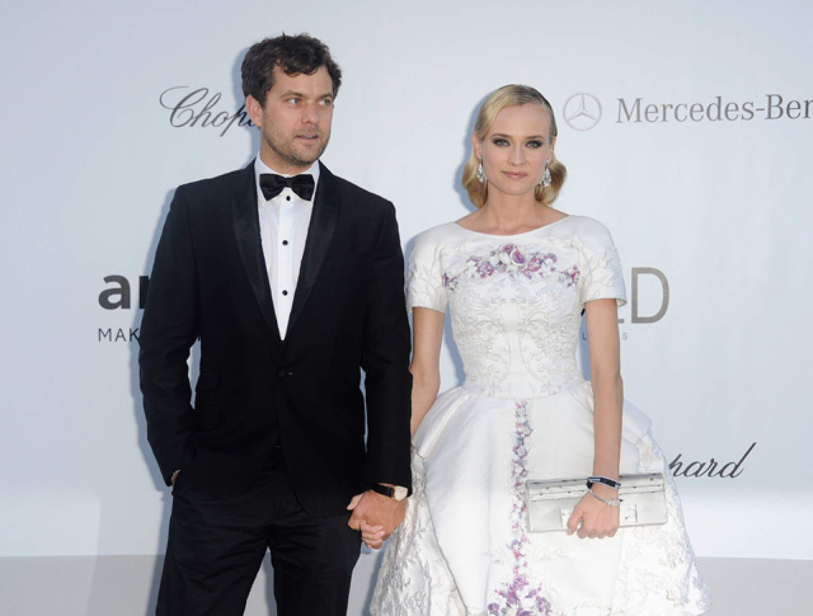 Diane Kruger donó los servicios de su novio Joshua Jackson.