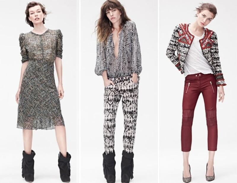 Tal ha sido la expectativa causada por la colección de Isabel Marant para H&M que en su primer día en el mercado, la demanda en línea logró colapsar el sitio norteamericano y europeo de la marca.