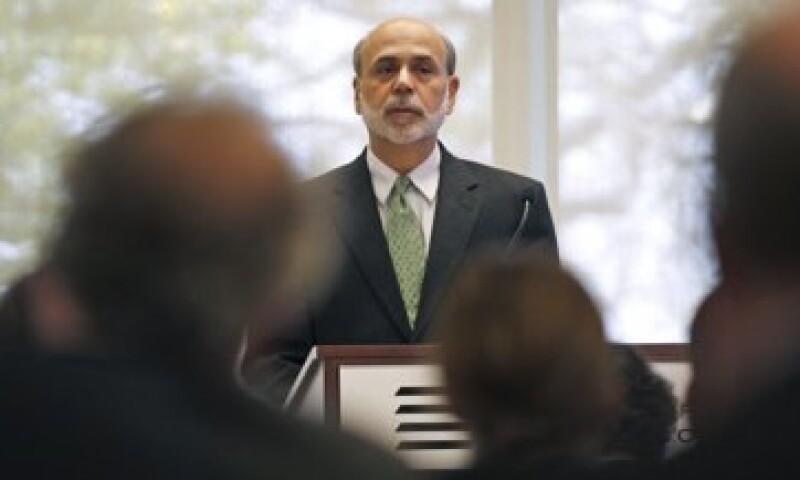 Las acciones pasaron a negativo tras el anuncio del Libro Beige de la Reserva Federal, que preside Ben Bernanke. (Foto: Reuters)