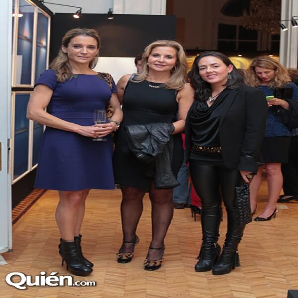 Patricia Bessudo, Araceli Rodríguez, Arantxa Rodríguez