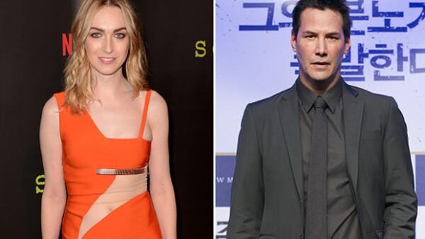 Al parecer el actor de Matrix y la actriz de Sense8 tienen algo más en común aparte de que los creadores tanto la serie como la película sean los mismos.
