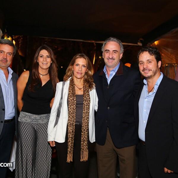 Rodrigo Villasanta,Jessica Moncada,Mónica Ochoa,Joaquin Quintana y Gerardo del Villar