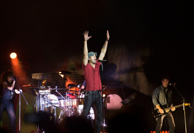 Con esta imagen el cantante agradeció el apoyo que ha recibido de sus fans.