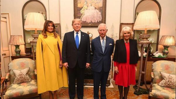 Melania, Donald Trump, príncipe Carlos y Camila Parker