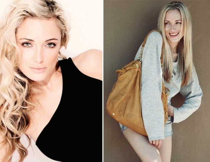 La modelo posó para la revista FHM, era el rostro oficial de Avon en Sudáfrica y trabajaba para una compañía de autos.