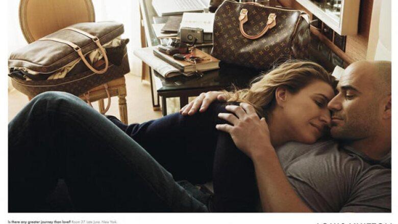 """Steffi Graf y Andrea Agassi no podían falter en seta galería. ¿El título de la imagen? """"Is there any greater journey than love?"""""""