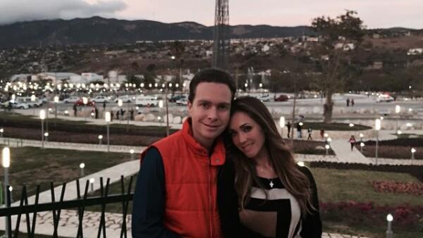 Anahí y Manuel Velasco se casan en abril, por lo que su relación está en el climax.