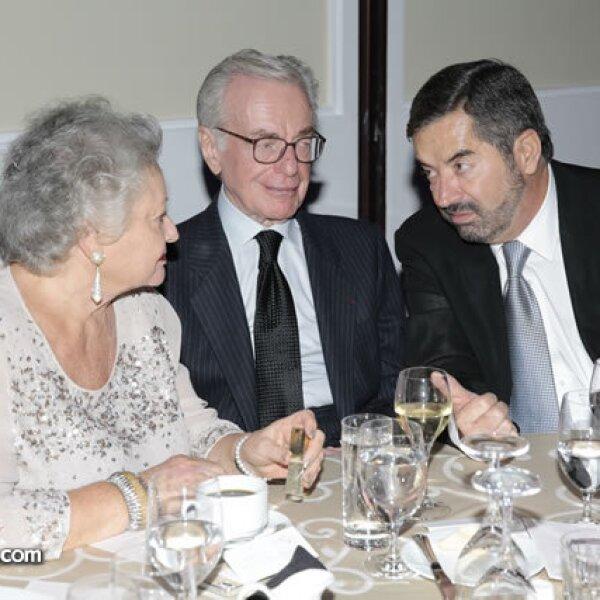 Sarita de Zabludovsky,Jacobo Zabludovsky,Juan Ramón de la Fuente