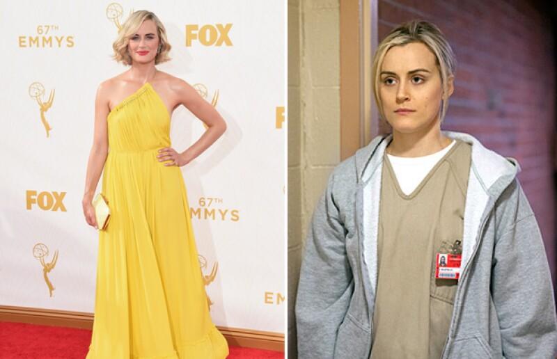 La protagonista de la serie lució un fresco y llamativo vestido amarillo en los Emmy.