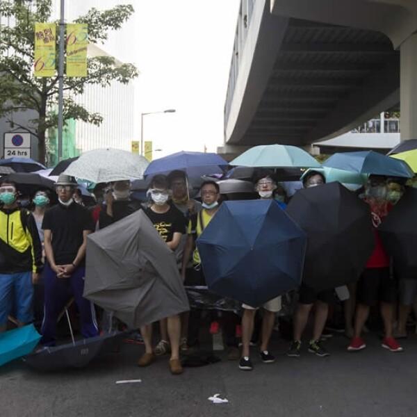 Manifestantes protestas