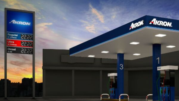 gasolinera de Akron
