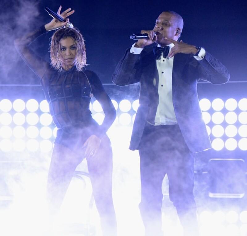 """Beyoncé y Jay Z interpretaron """"Drunk In Love""""."""