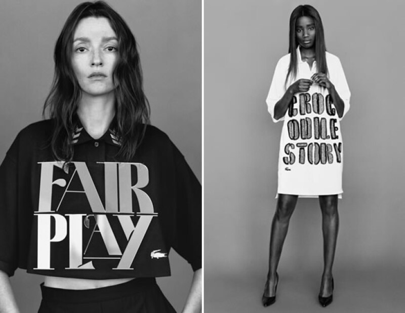 Looks de la colección Lacoste Couture Polo Shirt.