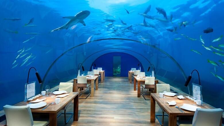 Ithaa Undersea Restaurant (Isla Rangali, Islas Maldivas)