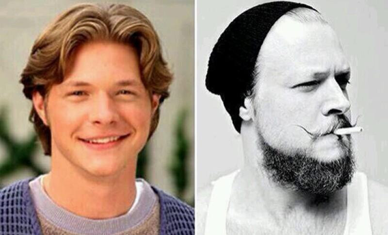 Conforme los años, Nate Richert, mejor conocido como Harvey, ha cambiado radicalmente.