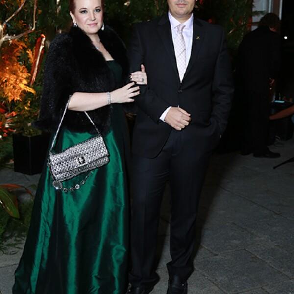 Norma Benavides y Armando de la Fuente
